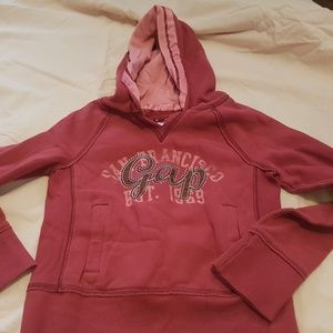 Gap Hooded Sweatshirt Girls Size 8